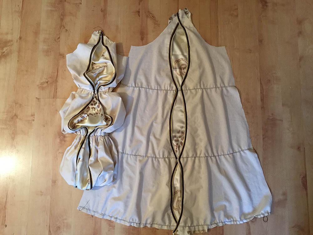 kostenlose Anleitung: Wie konstruiere ich ein Schnittmuster für ein Renaissance-Kleid?