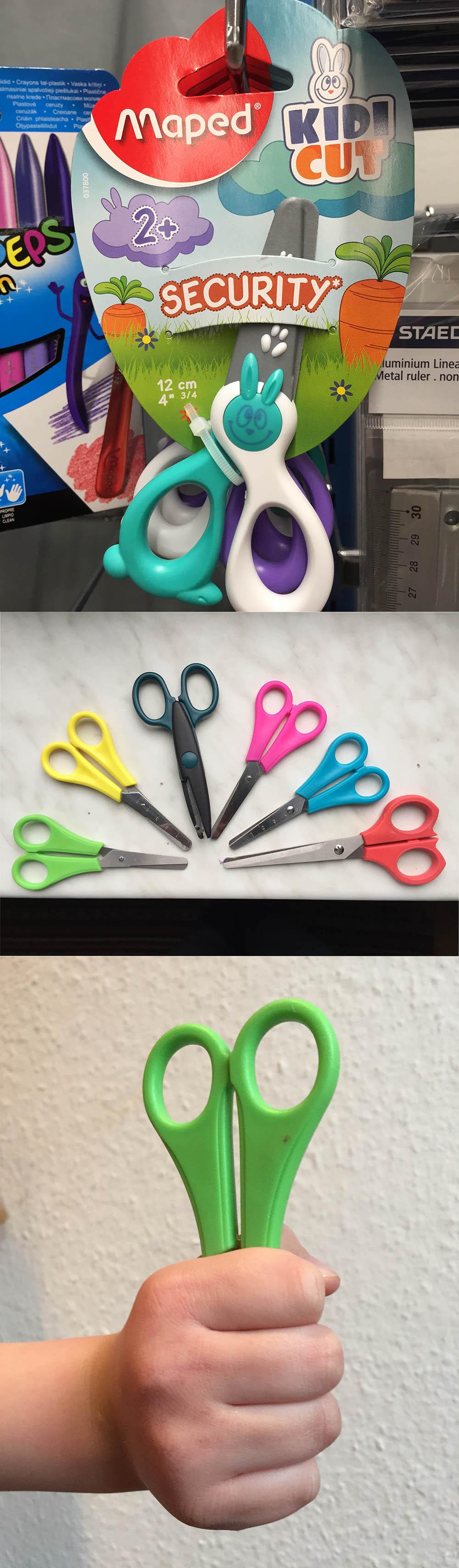 sichere Scheren für Kinder