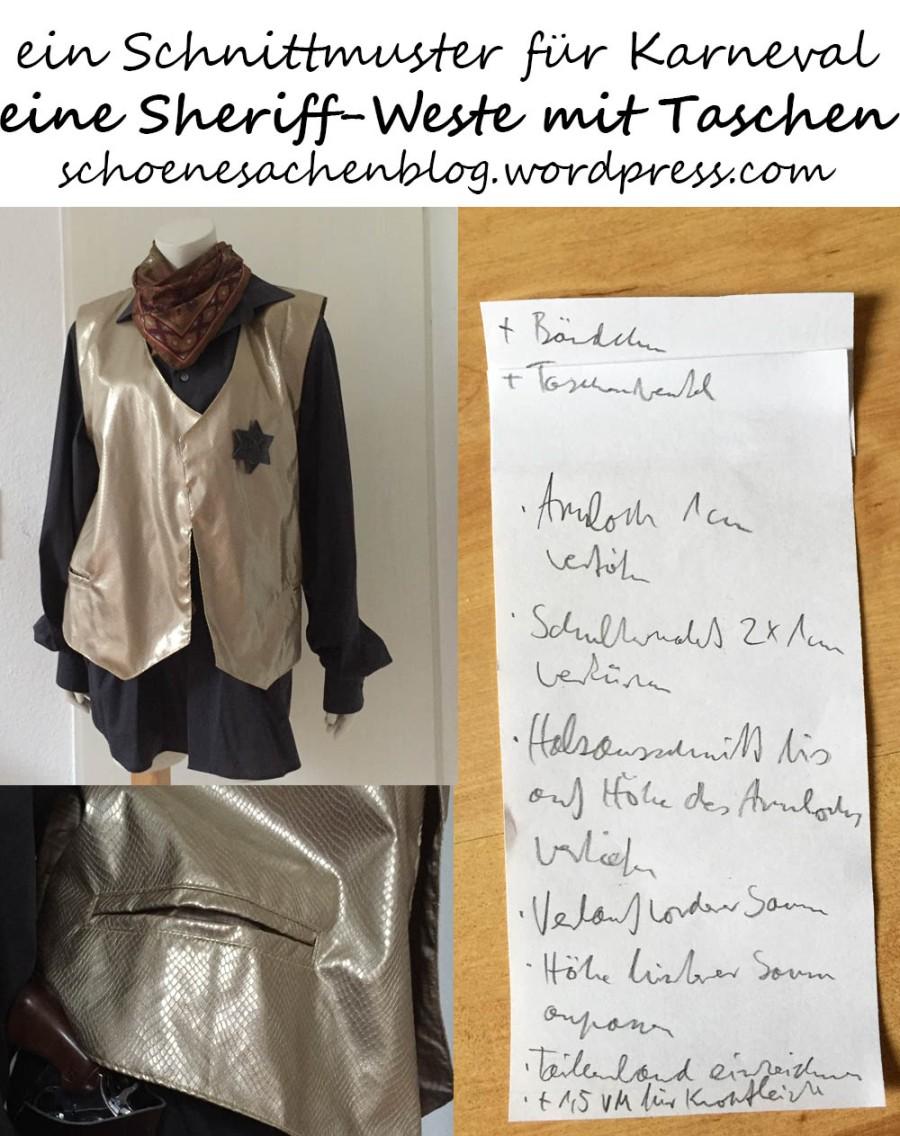 Famous Schnittmuster Weste Motif - Decke Stricken Muster ...