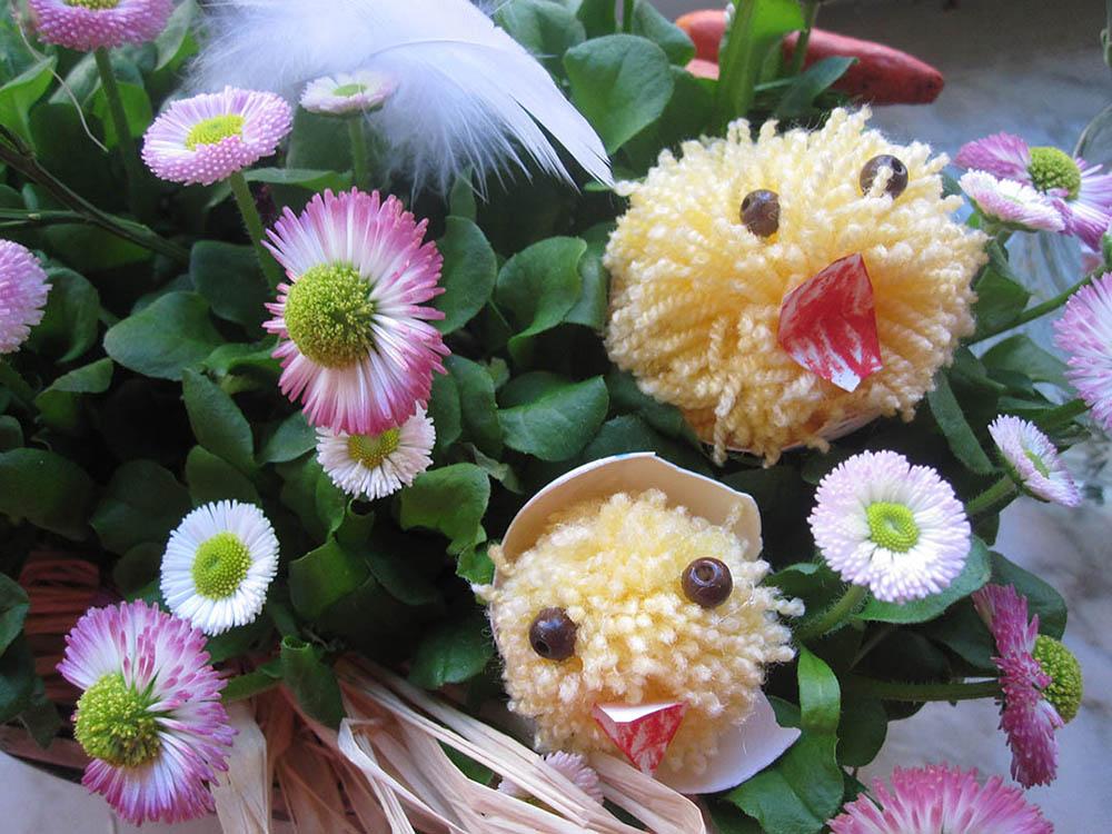 Basteln für Ostern mit Kinder