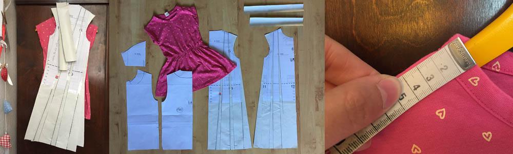 konstruier deinen eigenen Kleiderschnitt, ein einfaches Sommerkleid konstruieren