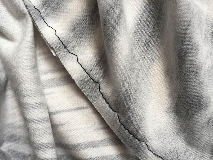 ein einfaches Jerseykleid für Kinder nähen