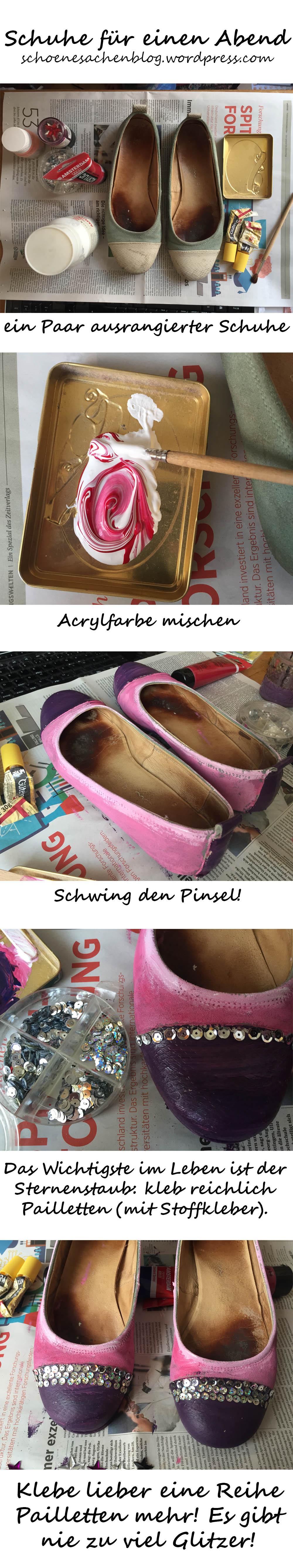 glitzer Schuhe 7